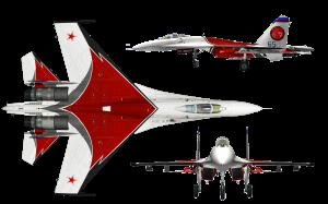 Su-27 Technical Characteristics